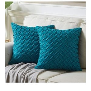 🆕️ Pack of 2 Accent Throw Pillow Covers 18x18 in